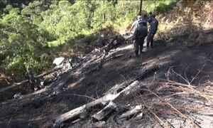 Helicóptero cai em serra e mata cinco pessoas em SP