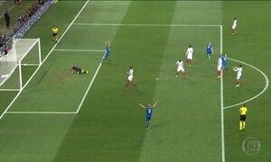 Inglaterra e Espanha são eliminadas da Eurocopa