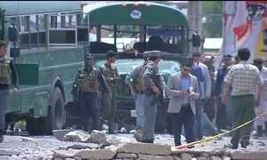 Talibã assume atentado terrorista no Afeganistão
