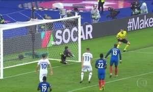 França vence a Islândia nas quartas de final da Eurocopa