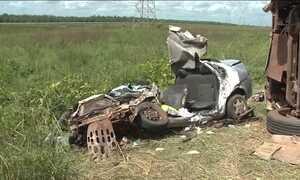 Acidente na BR 135 mata 8 pessoas, perto de São Luís
