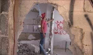 Casas de palestinos que atacaram pedestres em Jerusalém são demolidas