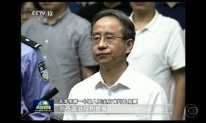 Braço direito de ex-presidente da China é condenado a prisão perpétua