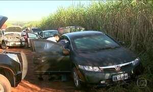 Polícia encontra digitais nos carros usados no assalto em São Paulo