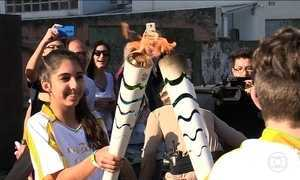Tocha Olímpica segue correndo o Brasil