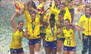 Seleção feminina de vôlei conquista o Grand Prix