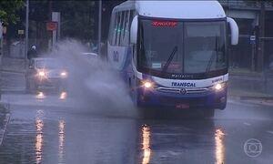 Tempestade castiga o Rio Grande do Sul