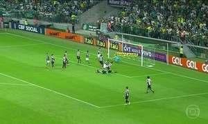 Palmeiras e Santos empatam no Brasileirão