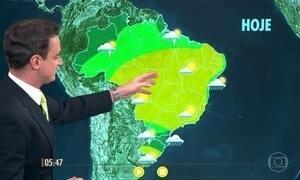 Confira como fica o tempo nesta quarta-feira (13)
