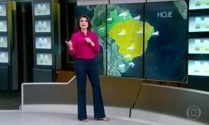 Confira a previsão do tempo para todo Brasil nesta quinta-feira (14)