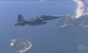 FAB apresenta o plano de segurança do espaço aéreo na Olimpíada