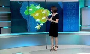 Sábado (16) será com frio no Sul e Sudeste