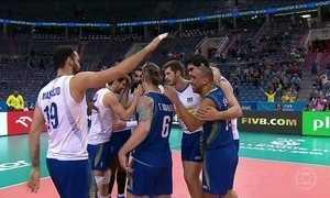Seleção masculina de vôlei vai para a semifinal da Liga Mundial