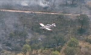 Tempo seco deixa rastro de queimadas em Brasília