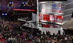 Começa a convenção do Partido Republicano