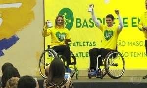Duzentos e setenta e oito atletas vão defender o Brasil nos Jogos Paralímpicos do Rio