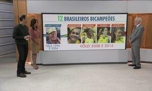 Rio pode ter o primeiro tricampeão olímpico nos Jogos de 2016