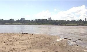Estiagem afeta navegação nos rios de Rondônia
