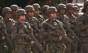 Rio de Janeiro já conta com esquema de segurança para a Olimpíada