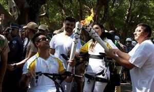 Tocha Olímpica percorre a capital paulista