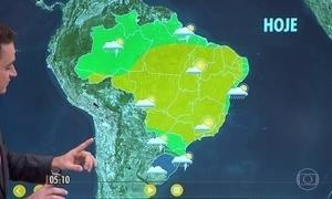 Confira como fica o tempo nesta terça-feira (26)