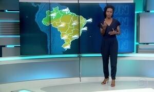 Maioria das regiões brasileiras deve ter tempo firme nesta quarta-feira (27)