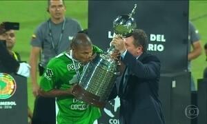Atlético Nacional, da Colômbia, é o campeão da Libertadores