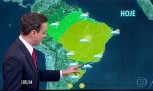Confira como fica o tempo nesta segunda-feira (8)