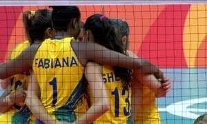 Seleção feminina de vôlei vence segundo jogo com tranquilidade