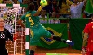 Seleção feminina de handebol vence dois jogos seguidos na Olimpíada