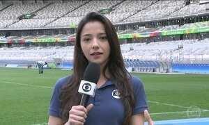 Seleção feminina de futebol enfrenta a Austrália em Belo Horizonte (MG)