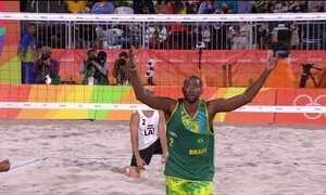 Brasil classifica as quatro duplas do vôlei de praia para oitavas de final