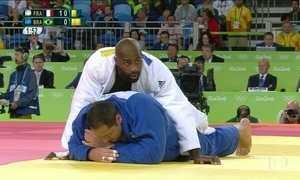 Judoca Rafael Silva perde para francês e vai para repescagem