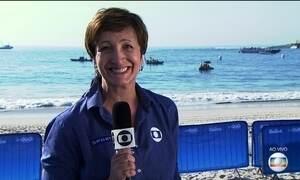 Poliana Okimoto e Ana Marcela Cunha lutam por medalha na maratona aquática