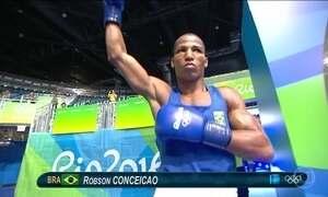 Pugilista Robson Conceição pode conseguir medalha de ouro inédita para o Brasil