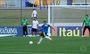 Seleção se prepara para enfrentar Honduras na semifinal do futebol masculino