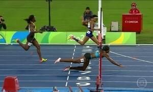 Veja as imagens olímpicas mais marcantes de segunda-feira (15)