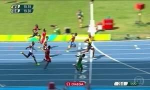Usain Bolt mostrou que está muito além dos adversários no atletismo