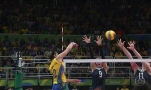Brasil perde para China no vôlei feminino e é eliminado da Olimpíada