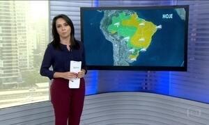 Veja a previsão do tempo para esta quinta-feira (18) em todo o Brasil
