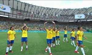 Brasil briga pela medalha de bronze com o Canadá no futebol feminino
