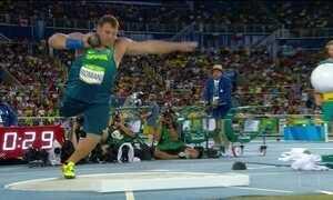 Darlan Romani é o 5º no arremesso de peso com recorde brasileiro