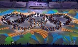 Cerimônia no Maracanã encerra os Jogos Olímpicos