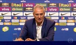 Tite faz a primeira convocação como técnico da seleção brasileira