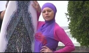 Proibição do traje de banho muçulmano na França faz vendas do produto disparar