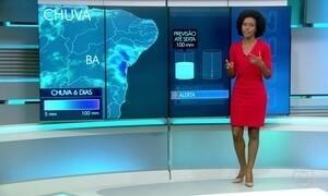Temporais continuam nesta quarta-feira (24) na Bahia