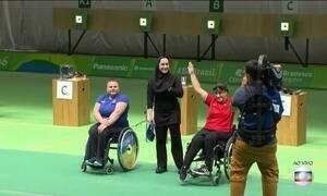 Brasil está na briga pela medalha de tiro olímpico masculino na Paralimpíada