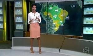 Previsão é de chuva no Rio