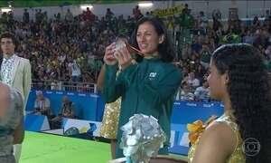Lucia Teixeira conquista a medalha de prata no judô paralímpico