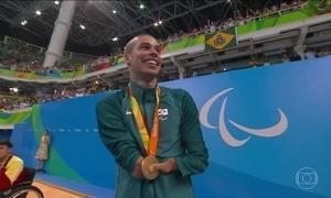 Daniel Dias conquista ouro e 20ª medalha na natação paralímpica